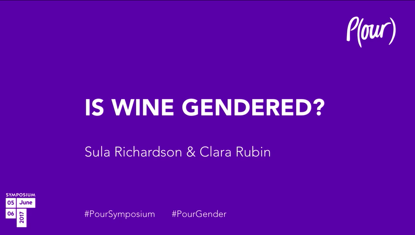 Sula Richardson & Clara Rubin | Is Wine Gendered?