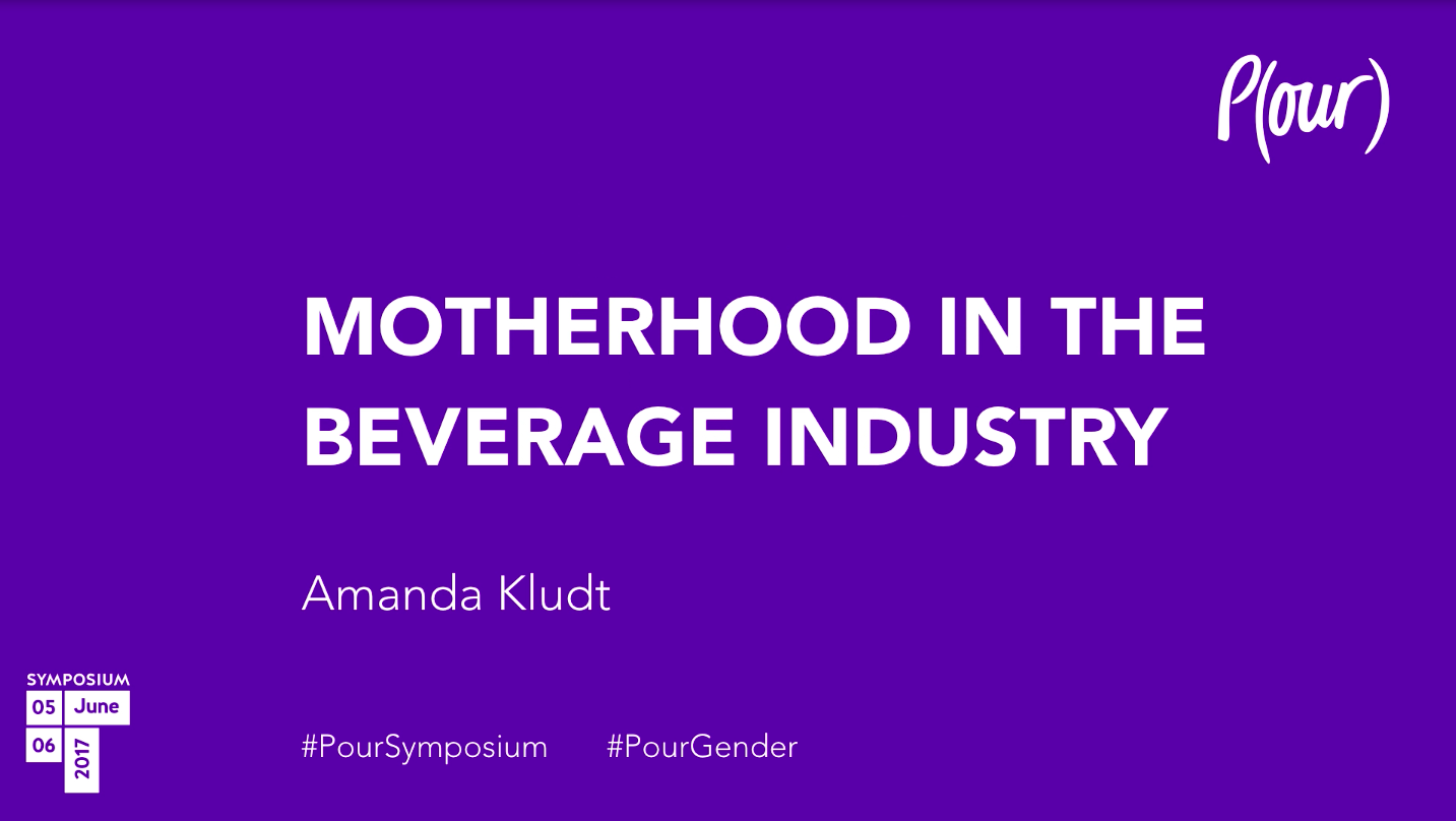 Amanda Kludt | Motherhood In The Beverage Industry