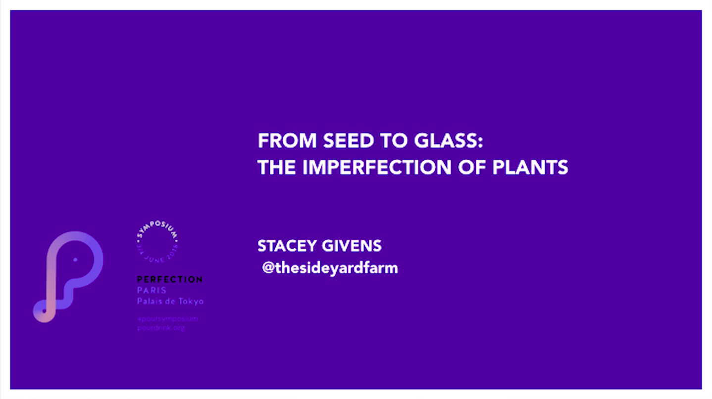 STACEY GIVENS |FROM SEED TO GLASS