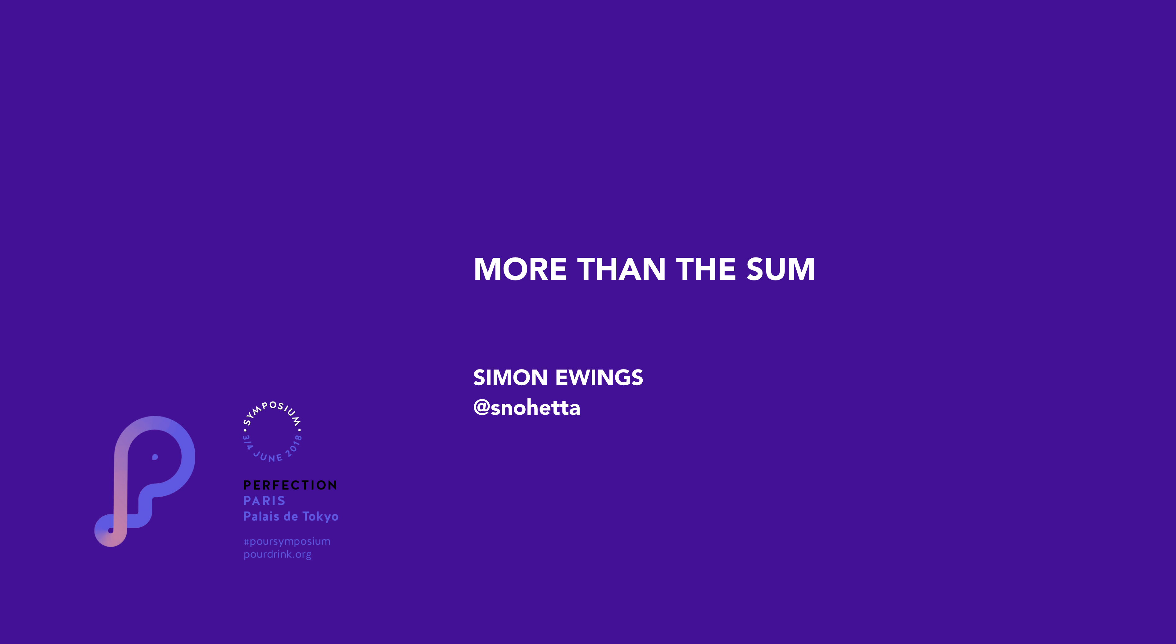 SIMON EWINGS | MORE THAN THE SUM